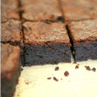 Fudgy Sweet Potato Brownies (vegan + paleo)