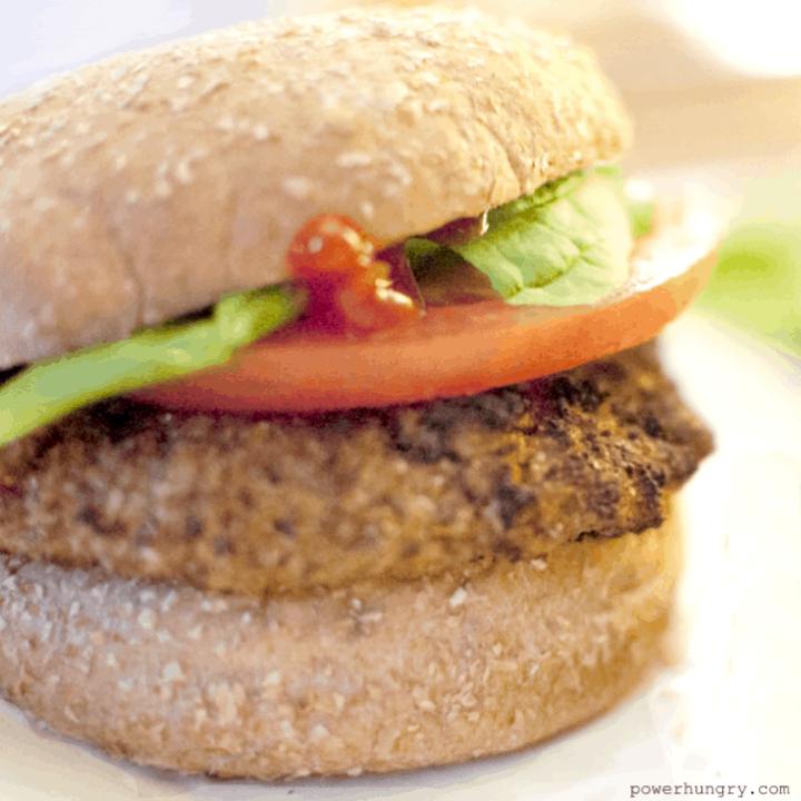 3 Ingredient Vegan Bean Burgers {vegan & gluten-free}