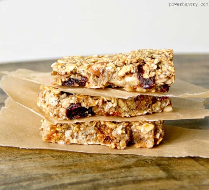 Healthy Chickpea Granola Bars