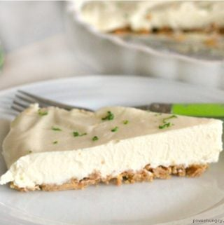 Lime & Ginger Coconut Pie {Vegan, GF, Paleo}