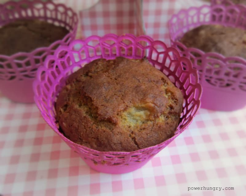toasted millet banana muffins 2