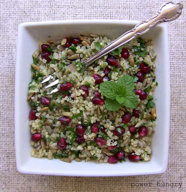 pomegranate quinoa 1