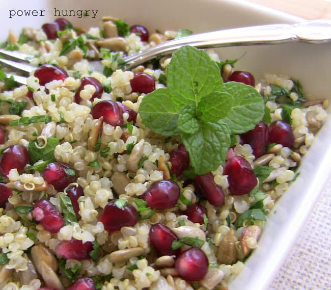 pomegranate quinoa 2
