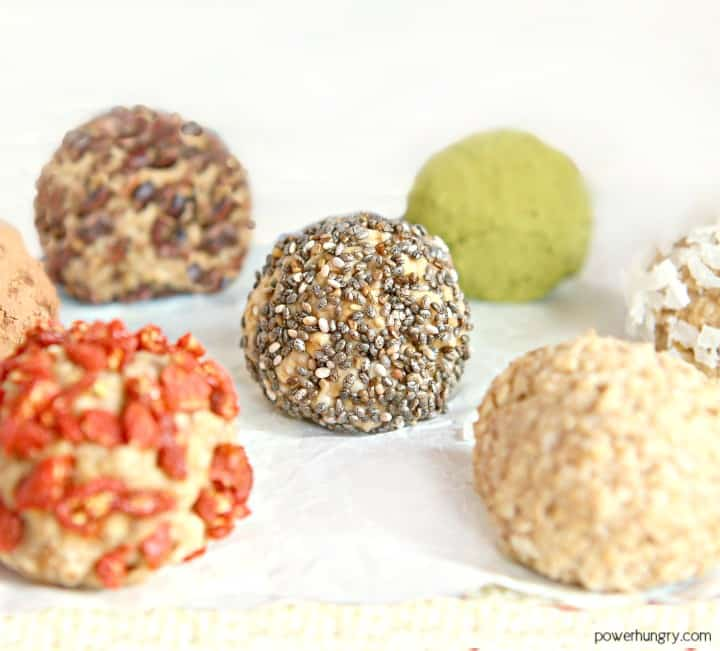 3 Ingredient Banana Protein Balls Vegan Gluten Free Powerhungry
