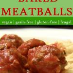image of tvp meatballs