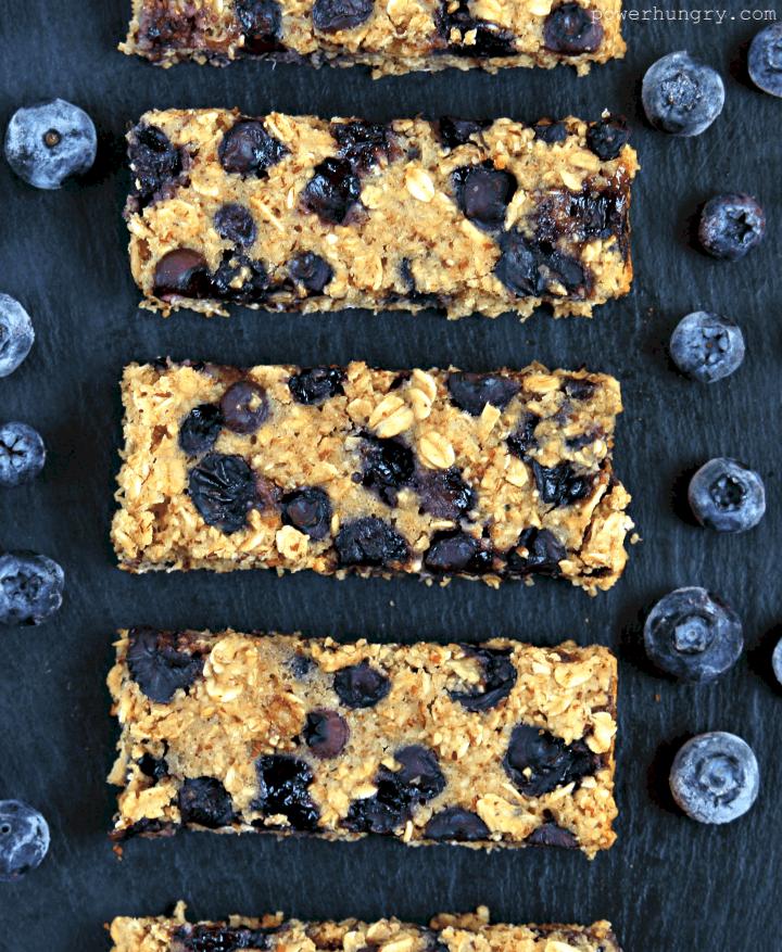 Blueberry Muffin Breakfast Bars {gluten-free & vegan ...
