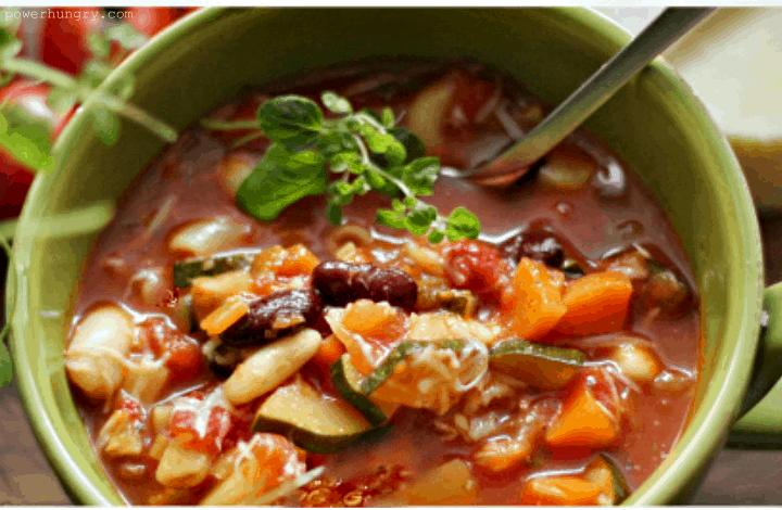 quinoa minestrone 1