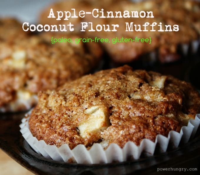 apple cinnamon coconut muffins 001