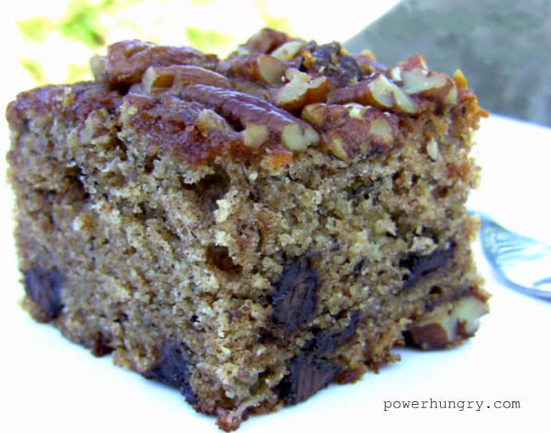 one bowl banana buckwheat cake gluten free power hungry