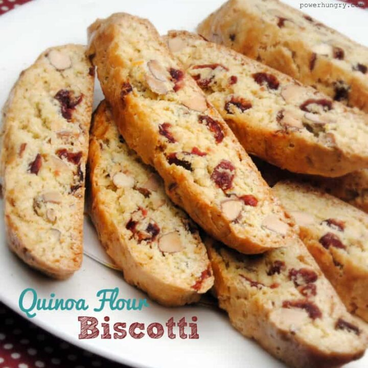 Quinoa Flour Biscotti (Gluten Free)