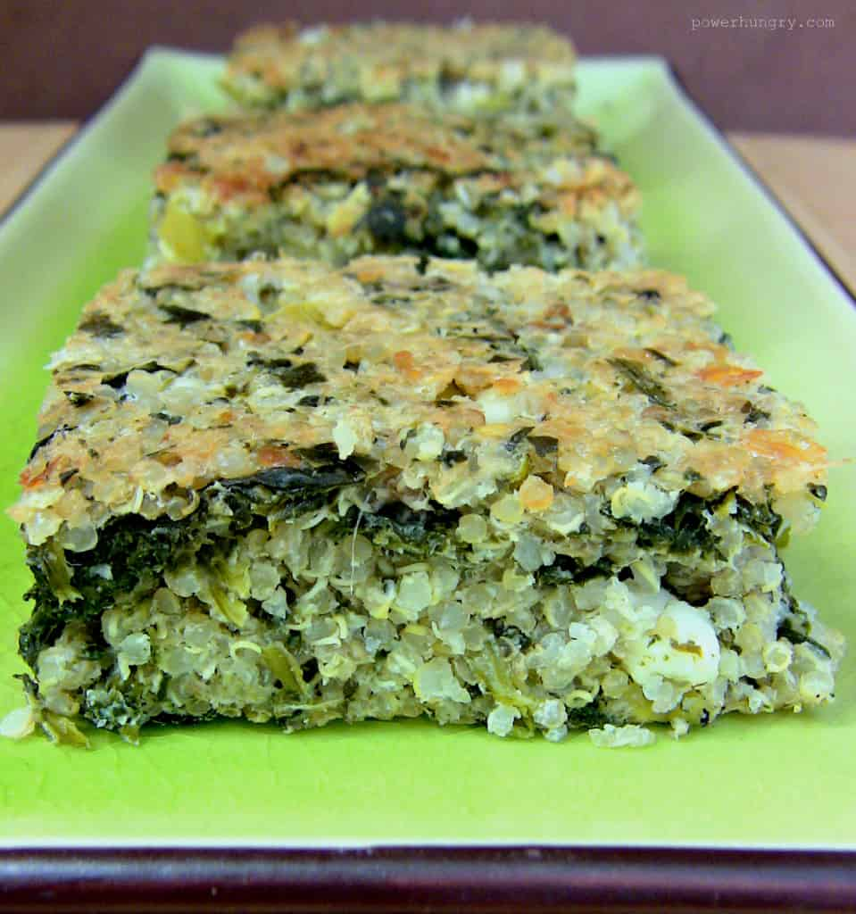 Spinach-Quinoa Breakfast Bars | Must-Try Homemade Breakfast Bar Recipes