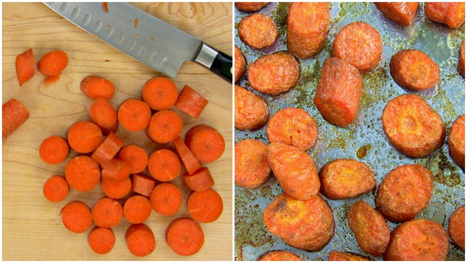 carrot hummus collage 1