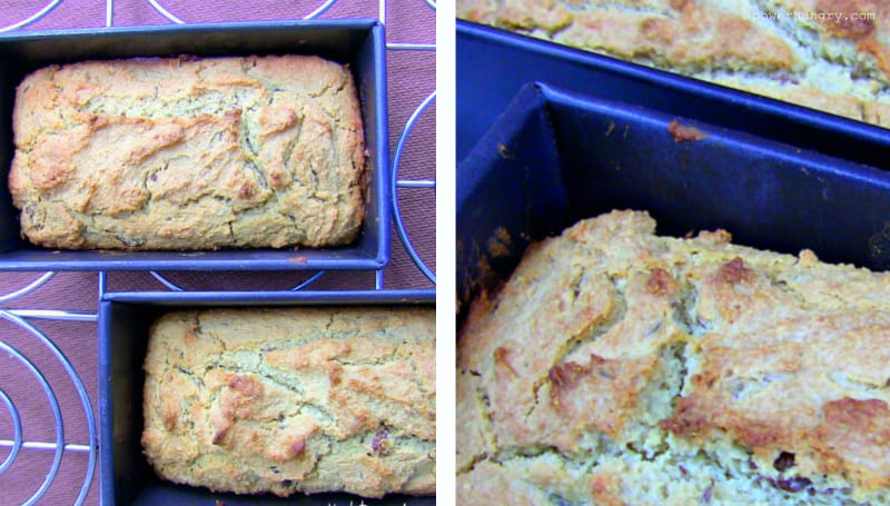 quinoa flour soda bread collage 1