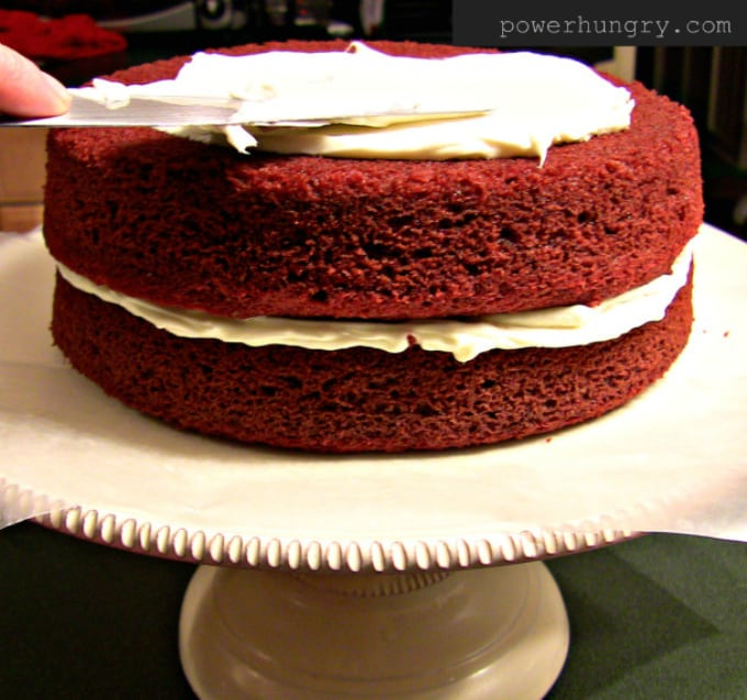 Vegan Red Velvet Cake power hungry
