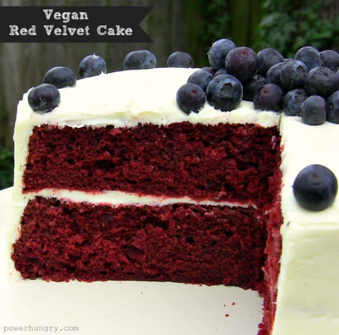 Raw Beetroot Red Velvet Cake