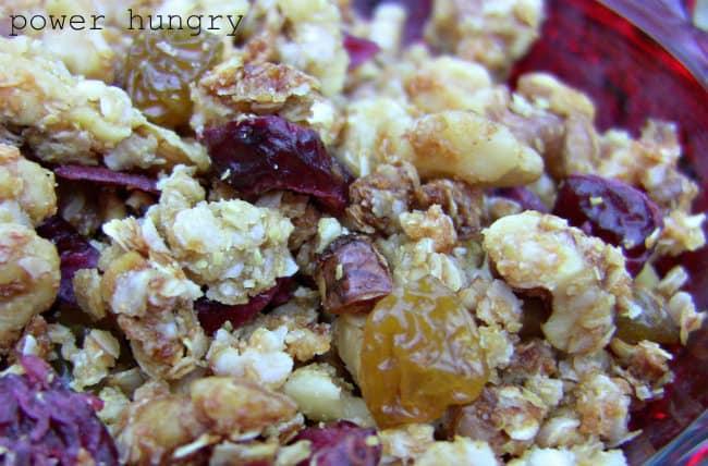 2012 quinoa granola 1