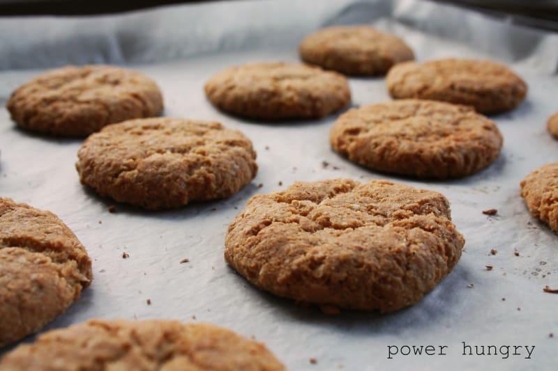 camilla quinoa anzac cookie
