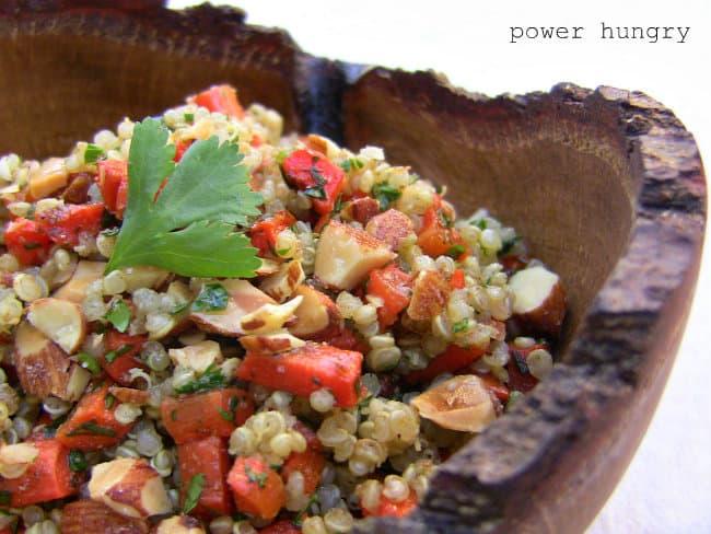 carrot quinoa salad 1