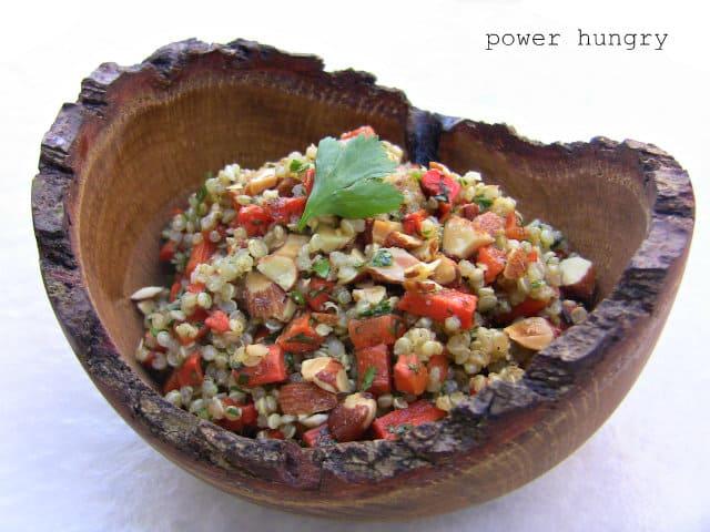 carrot quinoa salad 2