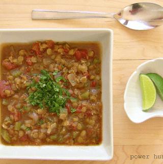 Garam Masala Red Lentil Stew {vegan, gluten-free}