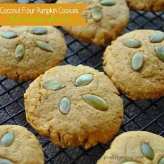Easy Coconut Flour Pumpkin Cookies {Paleo, Grain-Free, Gluten-Free}