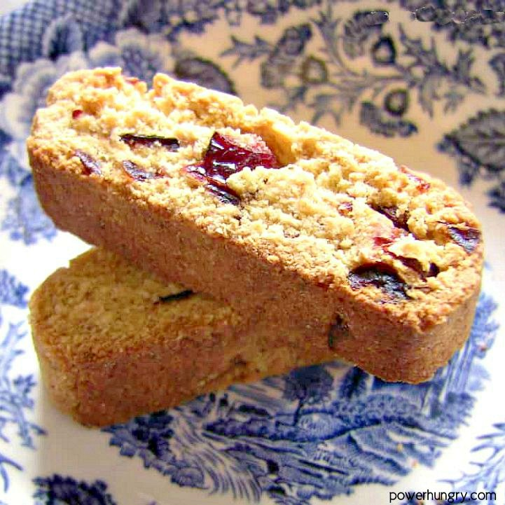 Grain-Free Vegan Biscotti {made with Coconut & Chickpea Flour}
