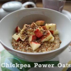 Chickpea Power Oatmeal
