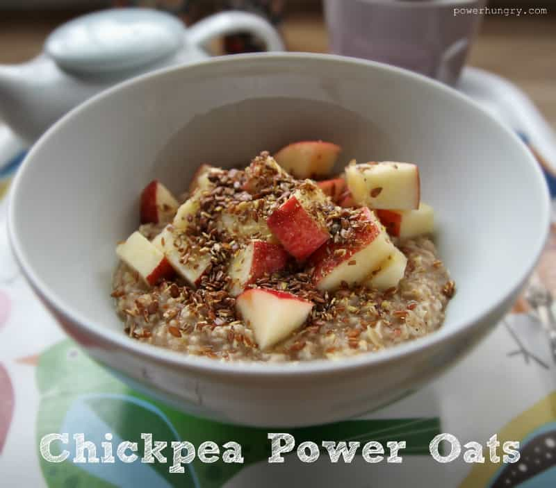 chickpea power oats