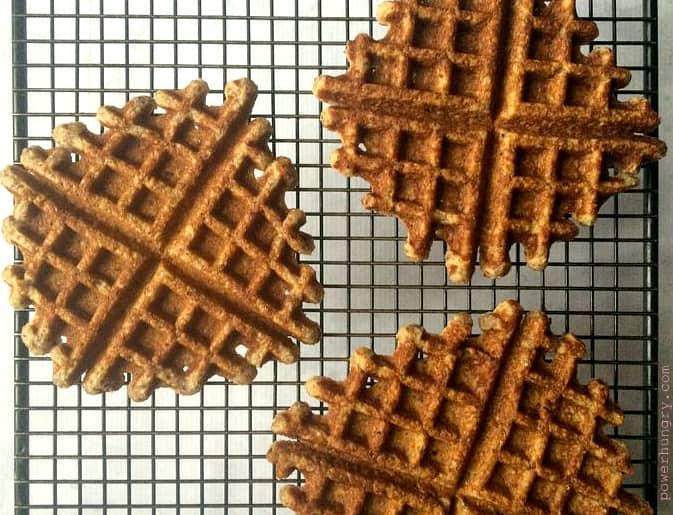 almond waffles 003
