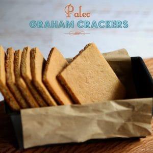 Easy Paleo Graham Crackers {gluten-free, grain-free, almond flour}