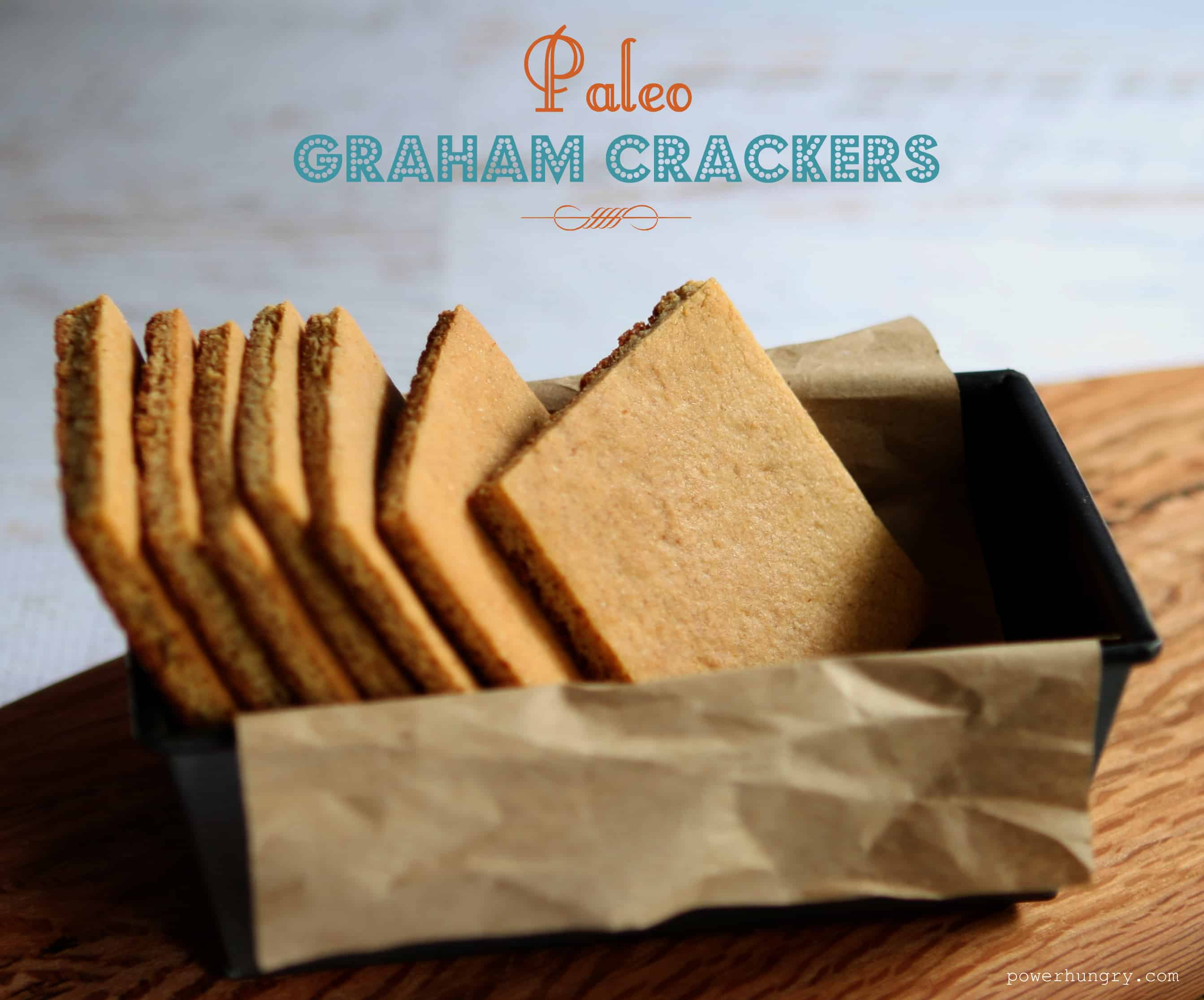 Easy Paleo Graham Crackers {gluten-free, grain-free, almond flour}