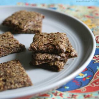 3-Ingredient Teff Crackers {Gluten-Free, Vegan}