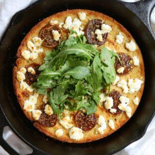 Cauliflower Pizza Crust {Grain-Free, Gluten-Free}