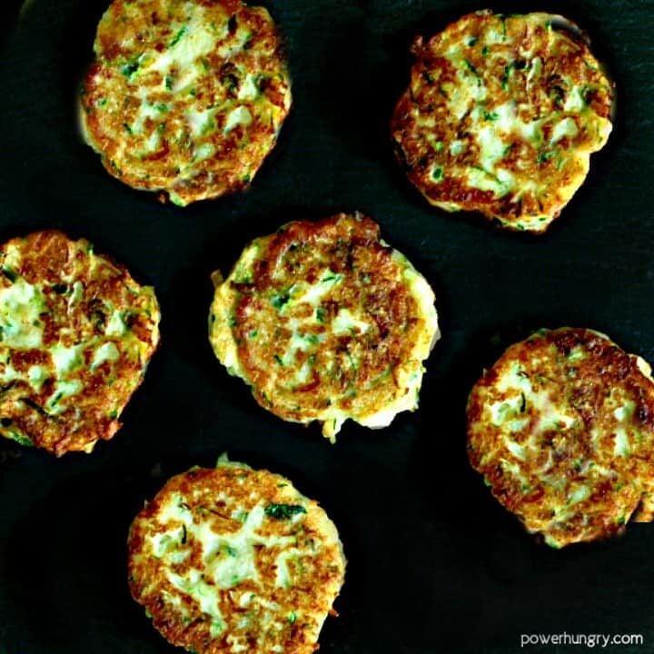 Chickpea Flour Zucchini Fritters (Vegan, Gluten-Free, Grain-Free)