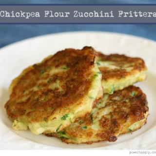 Chickpea Flour Zucchini Fritters (Gluten-Free, Grain-Free)