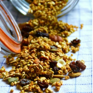 Maple Buckwheat Granola {Gluten-Free, Vegan, Awesome}