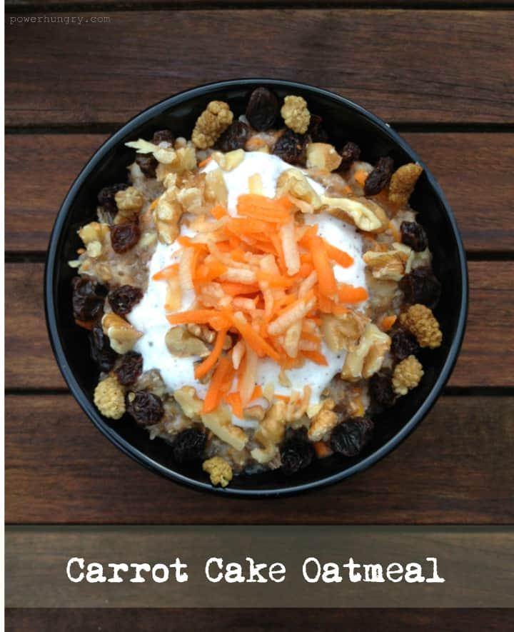 carrot cake oatmeal 2