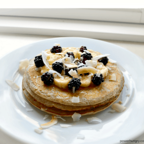 Buttermilk Chickpea Flour Pancakes {Grain-Free, Gluten-Free}