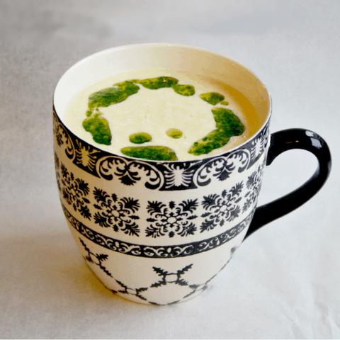 5-Minute Chickpea Flour Soup {Vegan, Gluten-Free}