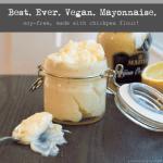 chickpea mayonnaise