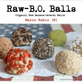 Raw B.O. Balls (Marco Rubio-R)