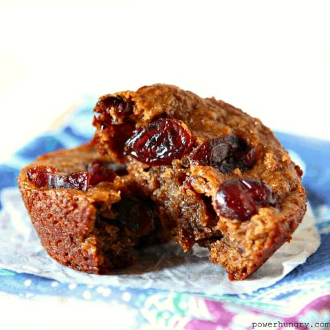 4-Ingredient Vegan Flax Muffins {grainfree, flourless}