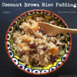 brown rice pudding 1