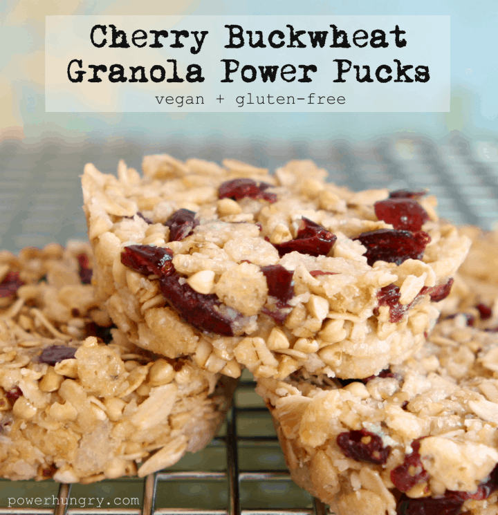 cherry buckwheat pucks 1