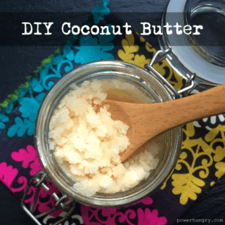DIY Coconut Butter {vegan+sugarfree+paleo}