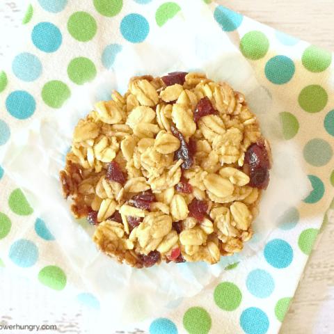 Muffin Tin Granola Bars {vegan, gluten-free}