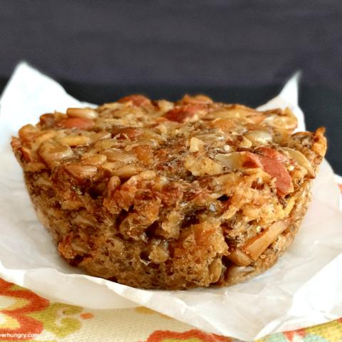 Oat, Seed and Nut Bread Minis {vegan, flourless, gluten-free}