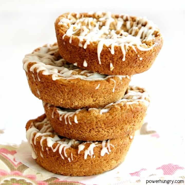 High Protein Coffee Cakes {vegan, gluten-free}