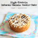oatmeal raisin protein puck 1