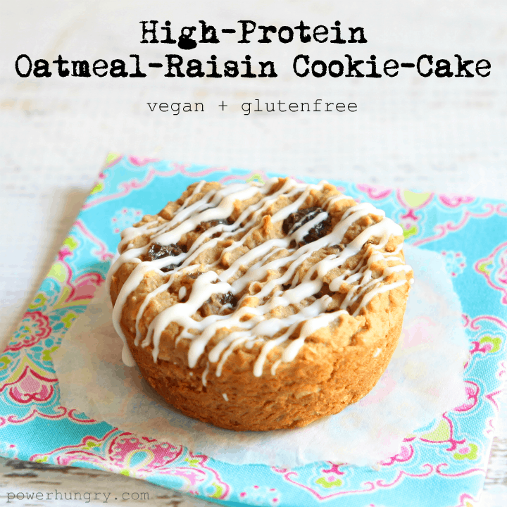 oatmeal raisin protein puck 1